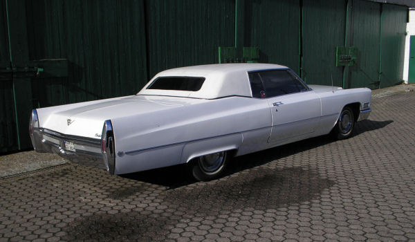 Cadillac Coupe de Ville, 1968 Motor: 472 ci (7,7 l), Class: near original, stock