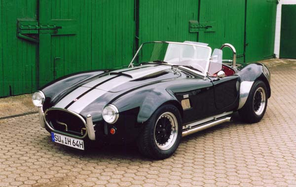Cobra Replica, 1968 Motor: 400ci (6,6l) V8 Class: completely rebuild by Hammer Performance