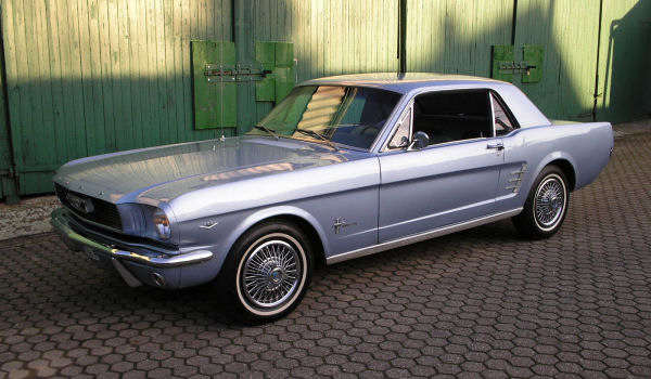 Ford Mustang, 1966, Motor: 302 ci (4,9 l), Class: near original, stock