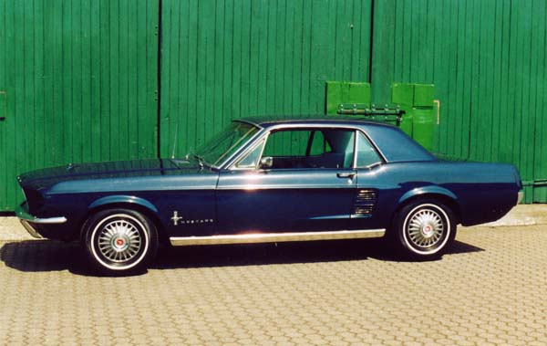 Ford Mustang, 1967 Motor: 289ci (4,7l) V8 Class: absolut original, stock