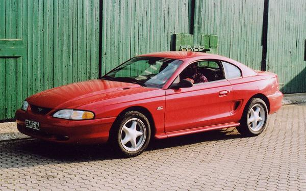 Ford Mustang GT, 1993 Motor: 5,0l V8 Class: absolut original, stock