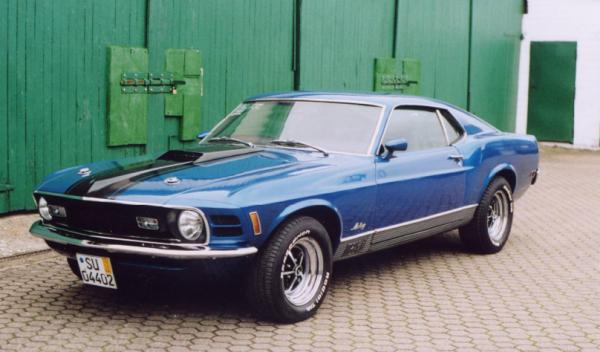 Ford Mustang Mach1, 1970 Motor: 351W (5,8l) V8 Class: near original, stock