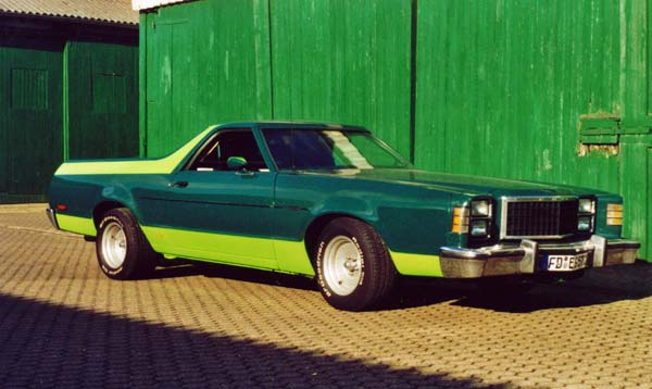 Ford Ranchero 500, 1979 Motor: 460ci (7,5l) V8 Class: mild modified
