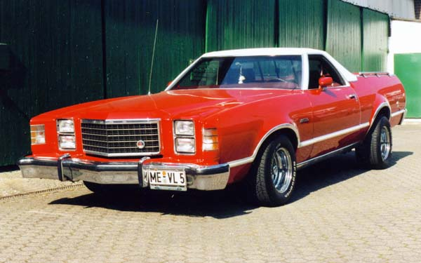 Ford Ranchero 500, 1979 Motor: 351ci (5,8l) V8 Class: mild modified