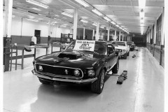 """Job Nr. 1"" - Ford Mustang Boss 429, 1969"