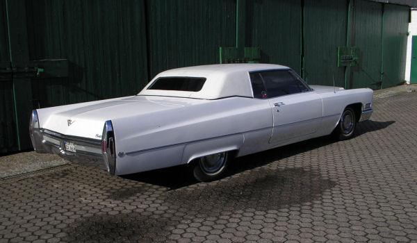 Cadillac Coupe de Ville, 1968 Motor: 472 ci (7,7 l), Class: near original, stock