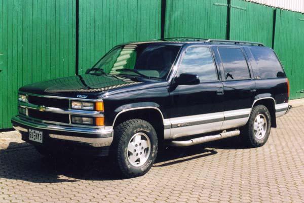 Chevrolet Tahoe, 1995 Motor: 350ci (5,7l) V8 Class: stock