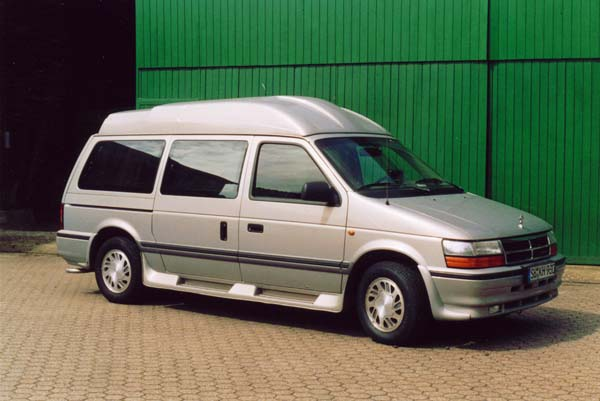 Crysler Grand Voyager, 1995 Motor: 3,3l V6 Class: stock