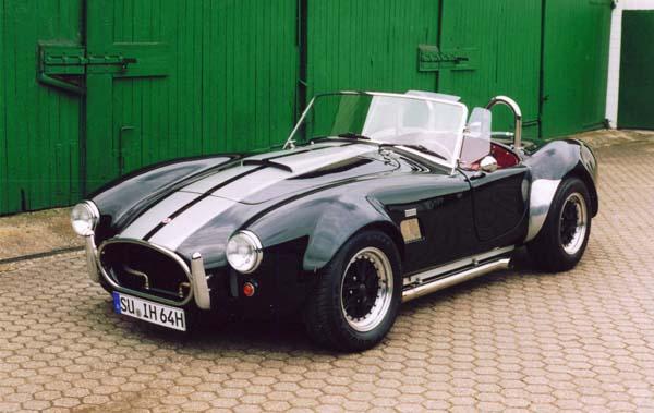 Cobra Replica, 1968 Motor: 400ci (6,6l) V8 Class: completely rebuild by Hammer Performance