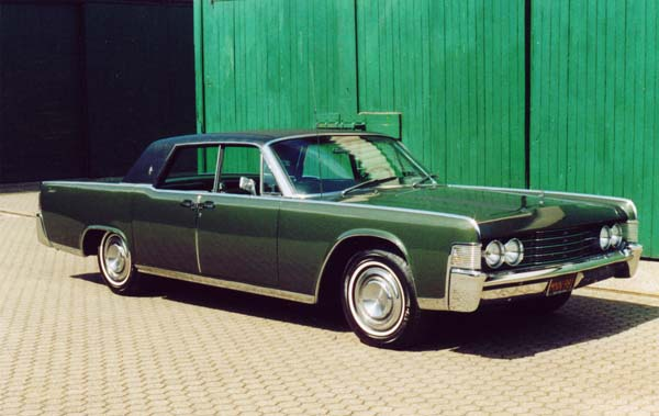 Ford Lincoln Continental, 1965 Motor: 430ci (7l) Class: absolut original, stock