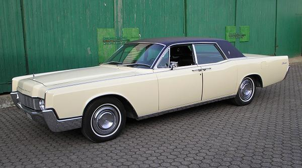 Ford Lincoln Continental, 1967,Motor: 462 ci (7,57 l), Class: absolut original, stock