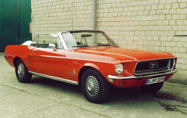Ford Mustang, 1967 Motor: 289ci (4,7l) V8 Class: absolut original, stock