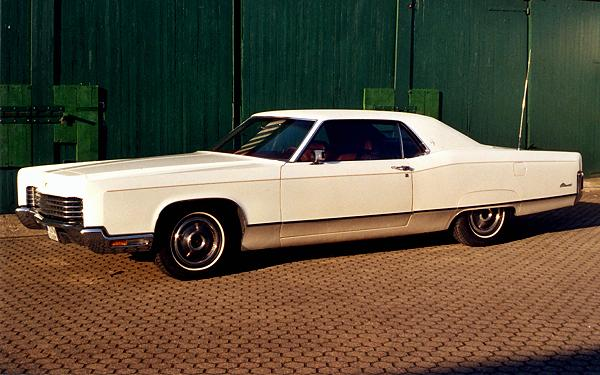 Lincoln Continental Coupe, 1970 Motor: 460 ci (7,0 l) V8 Class: absolut original stock