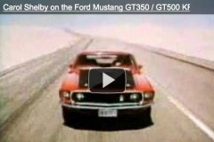 Carol Shelby @ Ford Mustang GT350