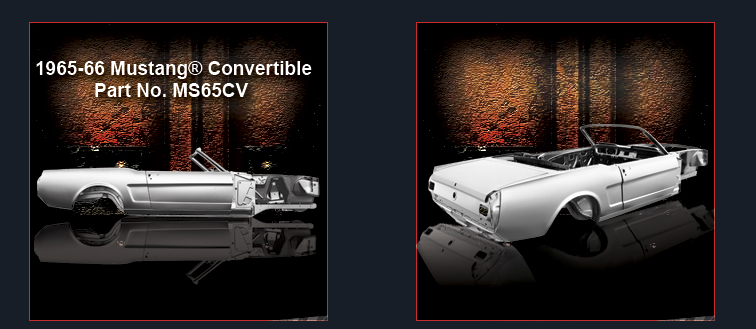 Screenshot Dynacorn Classic Ford Mustang Bodies