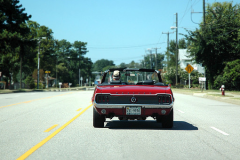 Ford Mustang, 1968: On the road