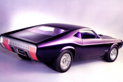 Ford Mustang Milano (Concept Car), 1970