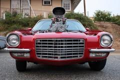 Camaro with Blower